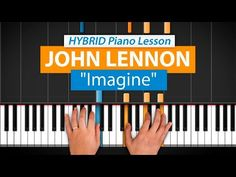 """How To Play """"Imagine (Updated)"""" by John Lennon   HDpiano (Part 1) Piano Tutorial - YouTube"""