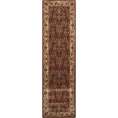 Persian Arts Burgundy (Red) 2 ft. 3 in. x 8 ft. Runner