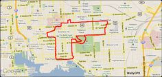 Biker uses GPS to turn city into an Etch-a-Sketch