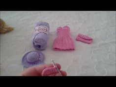 Элегантный наряд для куклы крючком  Платье, клатч, шляпа  2 часть Клатч,...