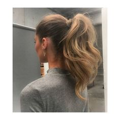 25 Elegant Ponytail Hairstyles for Special Occasions ❤ liked on Polyvore featuring accessories, hair accessories, hair, evening hair accessories, holiday hair accessories and long hair accessories
