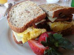 Happy Gillis Breakfast Sandwich