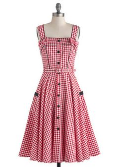 So cute :) Spin There, Done That Dress, #ModCloth