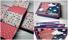 Stampin'Up! Twist & Fold Mini Album With FREE Carried Away DSP