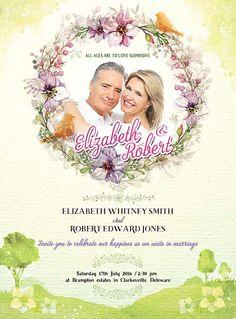 Wedding Invitation Free PSD Flyer Template - http://freepsdflyer.com/wedding-invitation-free-psd-flyer-template/ Enjoy downloading the Wedding Invitation Free PSD Flyer Template by Bestofflyers!  #Church, #Community, #Party, #Wedding