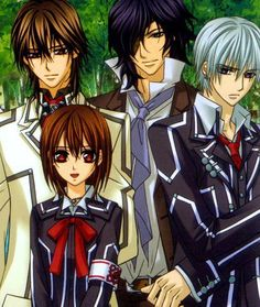 Vampire Knight is one of the first Anime's I've ever watched. It's also one of my favorites