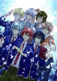my favourite is the boy with the red hair💜 Handsome Anime Guys, Hot Anime Guys, Cute Anime Boy, All Anime, Me Me Me Anime, Anime Boys, Manga Anime, Anime Art, Black Butler Characters