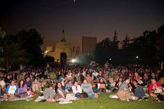 Summer Night's Outdoor Movie Nights