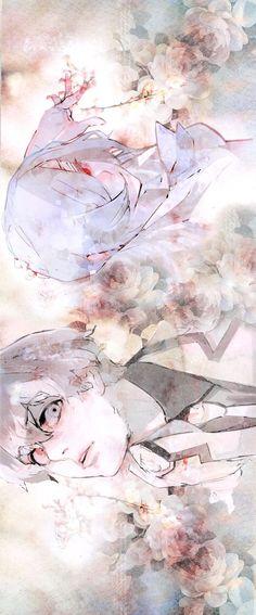 Tokyo Ghoul-Kaneki Ken & Kirishima Touka #TokyoGhoul #KanekiKen  #KirishimaTouka