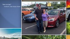 Dear Andrea Monaco   A heartfelt thank you for the purchase of your new Subaru from all of us at Premier Subaru.   We're proud to have you as part of the Subaru Family.
