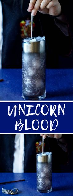 Unicorn blood drink cocktail 17 halloween cocktail recipes that are spooktacular Party Drinks, Cocktail Drinks, Fun Drinks, Yummy Drinks, Disney Drinks, Cocktail Recipes, Beverages, Halloween Cocktails, Halloween Snacks