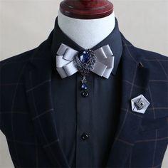 Mantieqingway Business Double Ribbon Collar Bow Tie for Mens Wedding Tuxedo Bowties for Women Adjustale Corbatas Neck Ties Tuxedo Wedding, Wedding Men, Wedding Suits, Wedding Dress, Trendy Fashion, Mens Fashion, Fashion Trends, Suit Fashion, Tuxedo Bow Tie