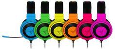Mmm. The colors, Duke. The colors. Razer Kraken Pro Neon Series Gaming Headsets