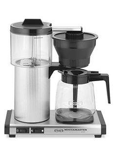 Moccamaster CD Grand 15-Cup Coffee Brewer with Glass Carafe, Brushed Silver *** See this awesome image    Coffee Maker