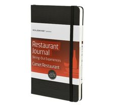 Moleskine - Restaurant Journal - Dining-Out Experiences - 2nd journal that i need to have :)