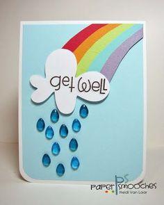 Get well card * rainbow