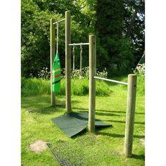 Langley Chin Bars from our children's Wooden Climbing Frames | Climbing Frames range