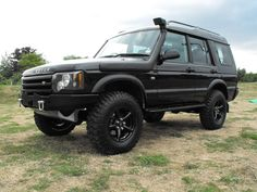 Simon used all Extreme 4x4 parts to improve his Discovery 2.