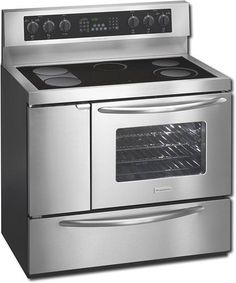 Frigidaire Plef489gc Professional Series 40 Inch Free Standing Electric Range Stainless Steel