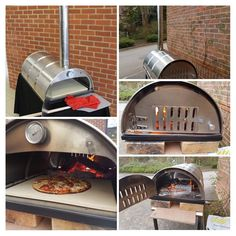 Best Outdoor Pizza Oven, Four A Pizza, Wood Oven, Pizza Ovens, Bbq Tools, Fire Pit Backyard, Charcoal Grill, Oven Baked, Food Truck