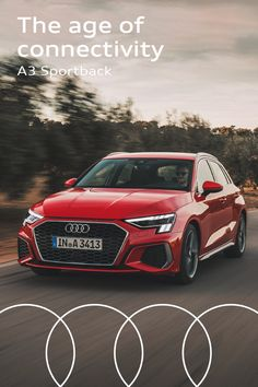 The latest Audi A3 Sportback was launched entirely digital this year - it truly is a car for the digital age. #Audi #AudiA3 #A3Sportback Audi A3 Sportback, New Model, Luxury Cars, Age, Digital, Shopping, Car, Fancy Cars