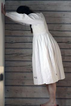 beautifully handmade dress.