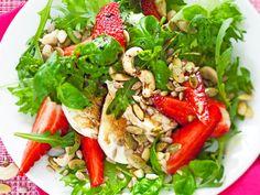 Mansikka-mozzarellasalaatti - Reseptit