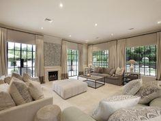 Living Room With Medium Beige Frieze Twisted Carpet Flush Light Fair Carpet Designs For Living Room Inspiration Design