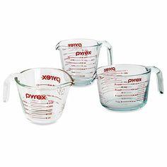 Pyrex® Measuring Cups - BedBathandBeyond.com