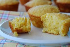 corn muffins eating