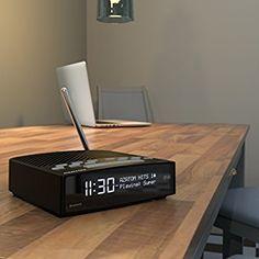 AZATOM Horizon DAB Digital Bedside FM Radio Alarm Clock: Amazon.co.uk: Electronics