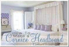 How to Make a Cornice Headboard