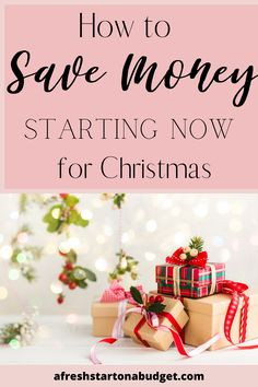 Do you stress about how expensive Christmas is? Here are 8 awesome tips for saving money this Christmas Start saving up for a great Christmas without having to go into debt. #christmasonabudget #savingmoney Save Money On Groceries, Ways To Save Money, Money Tips, Christmas Events, Christmas On A Budget, Saving Money Quotes, Money Saving Tips, Financial Goals, Financial Planning