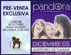 Grupo Pandora regresa a Tijuana a festejar 30 años de carrera musical.  info http://tjev.mx/1O9Y80U #Conciertos más info en http://tjev.mx/9jUxqh
