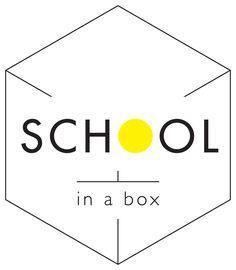 School in a box Logo Education System, Box Logo, Innovation, Teaching, Logos, School, A Logo, Schools, Learning