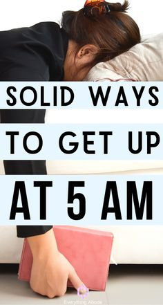 11 Habits to Wake Up at 5 Am That Everyone Needs to Know. You Won't Feel Tired in the Mornings Once You Know This! #morninghabits #wakeupat5am #5am #wakingupearly