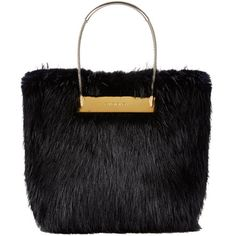 Balenciaga Fur Shopper