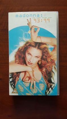 Madonna – The Video Collection 93 : 99 VHS EU 7599-38506-3 Mint Rebel Tour