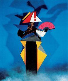 — just-art: Grace Jones by Jean-Paul Goude  via