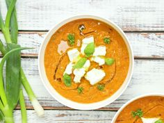 Creamy Low-Carb Red Gazpacho