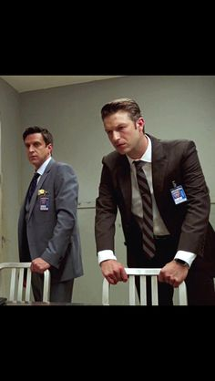Peter with Raul Esparza in Law & Order: SVU