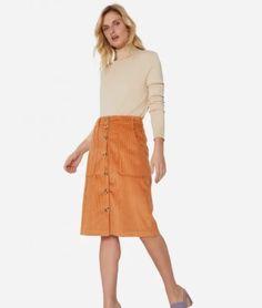 Waist Skirt, Midi Skirt, High Waisted Skirt, Skirts, Fashion, Winter Fashion Looks, Moda, Midi Skirts, Skirt