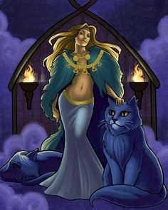 Part 5 of 6 In Norse mythology, Freya is a goddess of love and fertility, and the most beautiful of the goddesses. She is the patron goddess of crops and birth, the symbol of sensuality and was cal...