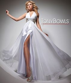 884f804e0e Look like a Real Queen in this  White Tony Bowls  Prom Dress  formalapproach