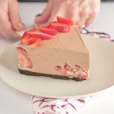 Nutella Cheesecake Your favorite desserts decided to have a party in your mouth.Your favorite desserts decided to have a party in your mouth. No Bake Desserts, Just Desserts, Delicious Desserts, Dessert Recipes, Yummy Food, Desserts Nutella, Baking Desserts, Fall Desserts, Nutella Cheesecake