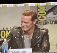 "Sam on the ""Brave New Warriors"" panel ~ San Diego Comic-Con 2015"