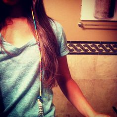 """""""Summer Hair #string #braid #feather"""" yes that is my friend."""