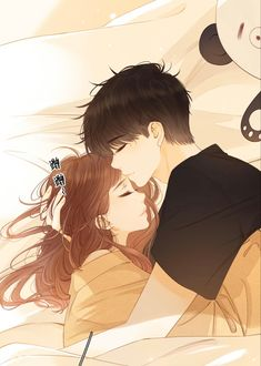 Couple Manga, Anime Love Couple, Couple Cartoon, Anime Couples Drawings, Anime Couples Manga, Anime Guys, Cute Couple Wallpaper, Anime Scenery Wallpaper, Cute Couple Art