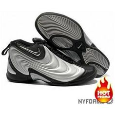 detailed look 133d8 057d8 Nike Air Flightposite 1 Metallic Grey Black Black Basketball Shoes, Nike  Foamposite, Air Max
