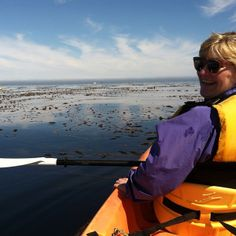 Kayaking is a great way to enjoy the beautiful scenery and get up close to wildlife in the Monterey Bay.